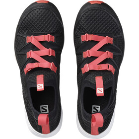 Salomon W's Crossamphibian Sandals black/black/lotus pink